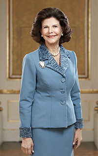 H.M. Queen Silvia. Photo: Peter Knutson